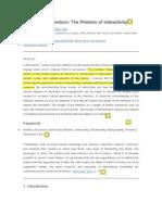 10 CARNEGIE Interface as Exordium  com comentários de tradução.pdf