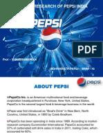 Marketing Research Pepsi