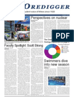 The Oredigger Issue 2 - October 7th, 2014