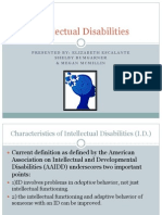 intellectual disability ppt