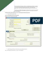 BSA Transaction Types Setup