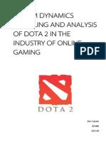 DOTA 2 System Dynamics