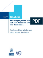 The employment situation in Latin America and the Caribbean 2014 wcms_314078