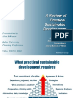 Kd04 Atkisson a Review of Practical Sustainable Development