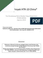 Pelajaran dari Proyek HTR-10 China