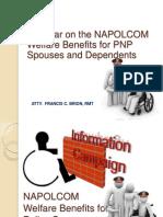 NAPOLCOM Welfare Benefits for Pnp