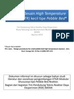 Prosedur Desain High Temperature Reactor (HTR) Tipe Pebble Bed