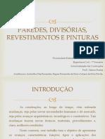 5. Paredes, divisórias, revestimentos e pinturas.pptx