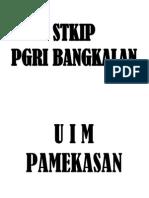 STKIP pgri bangkalan vs uim pamekasan