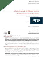 Enunciados gerais e específicos no relatório de auto-avaliação de um BE