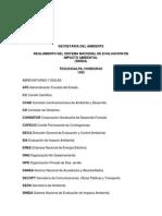 Reglamento Del Sistema Nacional de Impacto Ambiental (2)