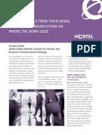 Nortel Digital Mobility