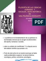 FILOSOFÍA DE LAS CIENCIAS HUMANAS  Y.ppt