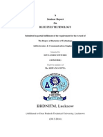 Seminar Report on BLUE EYES TECHNOLOGY