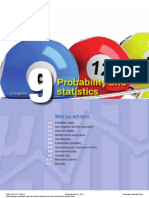 Chap 9 Probability and Statistics
