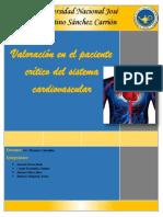 Valoración en el paciente crítico del sistema circulatorio.docx
