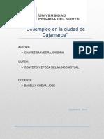 Desempleo en la ciudad de Cajamarca.docx