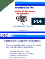 Factoring Of Accounts