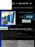 Clase-curso Formulacion y Evaluacion de Proyectos-generalidades-02-2014