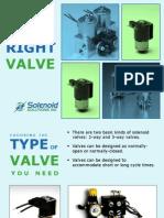 Choosing the Right Valve