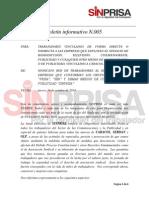 SINPRISA Boletin Informativo Numero 5.pdf