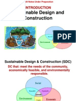 Introduction to Sustainable Buildings