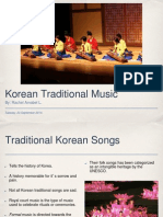 korean traditional music - rachel
