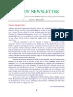 [01] AAR Mahaveer Newsletter January 2011