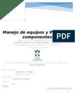 Lab   # 3 Manejo de equipos_Prueba de componentes.doc