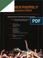 the hex family media kit 2014