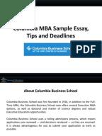 Wharton MBA Essay Samples