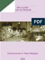 OTP Educacion Para Trabajo 2004