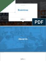 Braintree Overview
