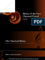 Music of the Neo-Classical Period