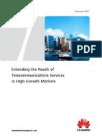 Huawei Technologies High Growth Markets Whitepaper