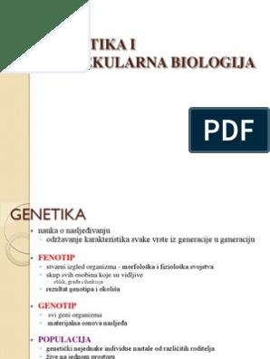 Web mjesto za genetiku