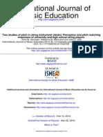 International Journal of Music Education 2014 Geringer 19 30