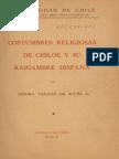Chile, Costumbres Religiosas Hispánicas en Chiloé