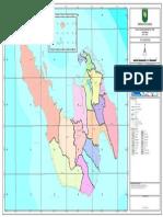Peta Administrasi di kota sabang