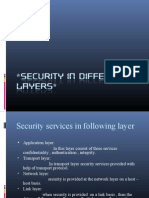 Security in Different Layers New 2003