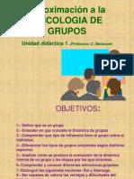 Unidad 1 Aproximación a la Psicologia de los grupos.II habilidades.ppt
