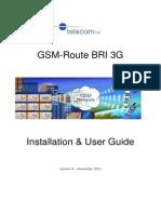 GSM-Route BRI 3G User Manual v4