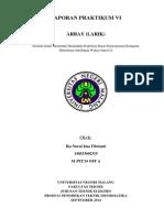 Laporan Praktikum VI ARRAY