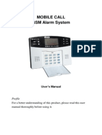 Mobile Call Gsm Alarm System
