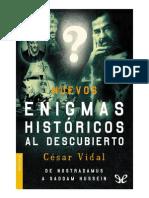 Vidal, Cesar - Nuevos enigmas historicos al descubierto [9946] (r1.1 jandepora).pdf