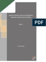Hamito-Semitic and Austronesian Language Families