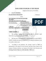 Raj Kumar Gursahani v. SEBI