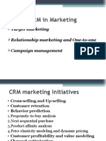 CRM in Marketing Lecture 2