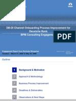 BPM - DB Case Study
