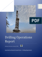 Drilling Operations Report